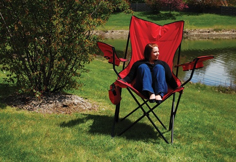 XL Oversized  Folding Lawn Chair